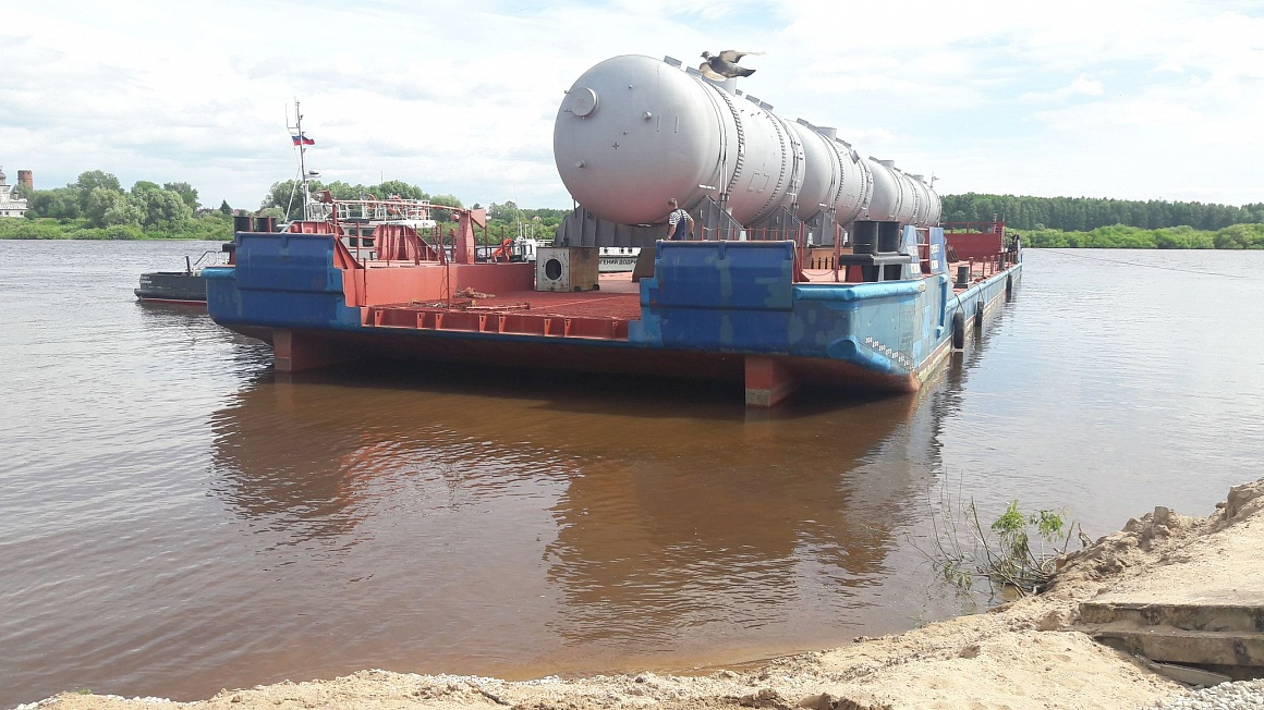 Delivery of 4 sets of Steam Generators to the Energy Unit №2